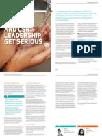 Social Impact and CSR Leadership Get Serious