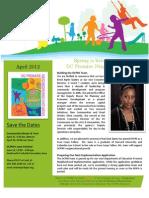 DCPNI Spring 2012 Newsletter