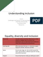 understanding inclusion