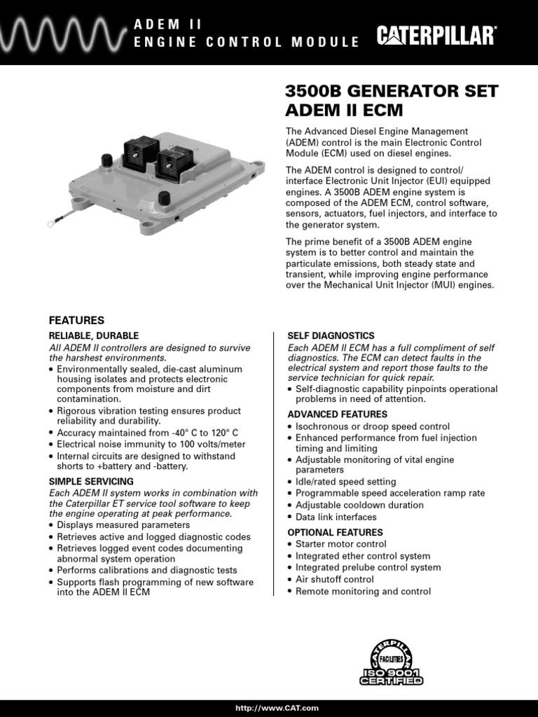 adem fuel injection diesel engine rh scribd com Caterpillar Identification Key Caterpillar Species Guide