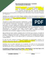 FORMATO 3 Carta Liberacion de Responsabilidades 2012.docx