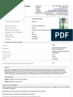 Mr Alex Westby's PDF Professional Background