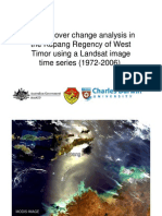 Rohan Fisher - Forest cover change analysis in the Kupang Regency of West Timor using a Landsat image time series (1972-2006)