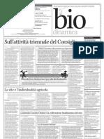 Bollettino Biodinamico 96/2012