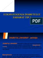 Etiopatogenia Diabetului Zaharat Tip 2
