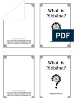 What is Nibbana?