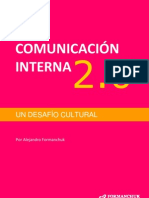 E Book Comunicacion Interna 2.0 Un Desafio Cultural Version 0.1 Formanchuk