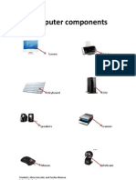 Vocabulary Unit 3 Computer Components