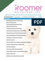 eGroomer Journal for Professional Pet Groomers July/September 2011