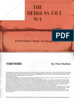 The David Berglas File 1