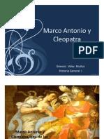 Unidad 10 Marco Antonio y Cleopatra - Génesis Vélez Muñoz