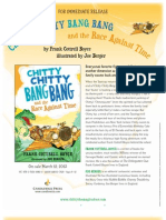 Chitty Chitty Bang Bang and the Race Against Time - Press Release