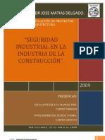 Seguridad Industrial en La Construccion