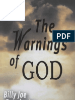 The Warnings of God -Billy Joe Daugherty