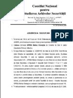Marius Oprea turnator al Securitatii? - Document CNSAS
