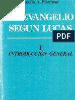 (Fitzmyer, Joseph) El Evangelio según Lucas (Tomo 1