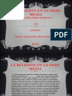 LARELIGION EN LA EDAD MEDIA