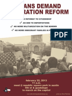 Texans Demand Immigration Reform - Feb 22