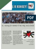 21. Gençlik Konseyi On Kitapcik