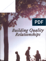 Building Quality Relationships - Billy Joe Daugherty