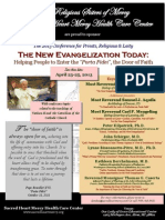 Year of Faith Conference for Priests, Religious & Laity - April 23-25, 2013