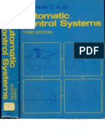 Automatic Control Systems by Benjamin C. Kuo