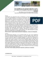 A análise fatorial para identificação dos principais indicadores técnico-econômico para avaliação do desempenho de produtores de leite em Rondônia