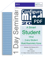 Configure Mind 2013- for Students