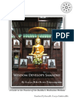 Wisdom Develops Samadhi