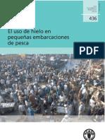 FAO EL USO DE HIELO EN PEQUEÑAS EMBARCACIONES DE PESCA