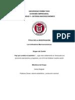 FASE DE INVESTIGACIÓN, TEMA 1. INDICADORES MACROECONOMICOS. CARLOS DELGADO
