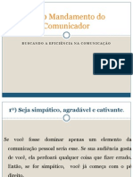 Os 10 Mandamento Do Comunicador