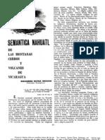 Semantica Nahualt