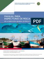 MANUAL PARA INSPECTORES DE PESCA, DIGEPESCA-SAG.  Honduras
