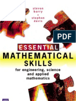 Essential Mathematical Skills for Engineering, Science and Applied Mathematics