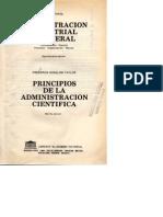 Henri Fayol Definición de Administración y Principios