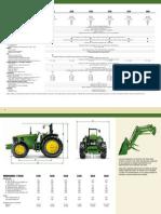 Espcificacion de Tractor 6030