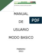 Manual Basico Siagie Actualizado