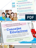 Carteles de Consejos Educativos