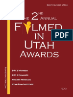 The 2nd Annual Filmed in Utah Awards