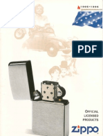 1995-1996 Zippo Official Licensed Products (GE-FR)