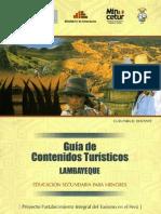 Guía de contenidos de Lambayeque