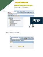 Generar ordenes en SAP
