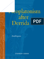 Neoplatonism after Derrida