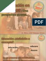 Conferencia- Lic Educacion