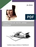 Comentario de Texto2- Jorge Manrique