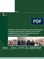 University of Miami Office of Civic and Community Engagement 2012 Annual Report