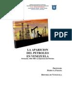 La Aparicion Del Petroleo en Venezuela