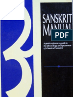 Sanskrit Manual - A quick reference Guide