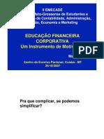 Educacao Financeira Corporativa Hoji